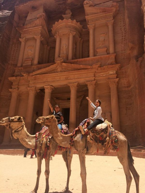 Conductor Camels At Petra Diana Escoffery 3rd