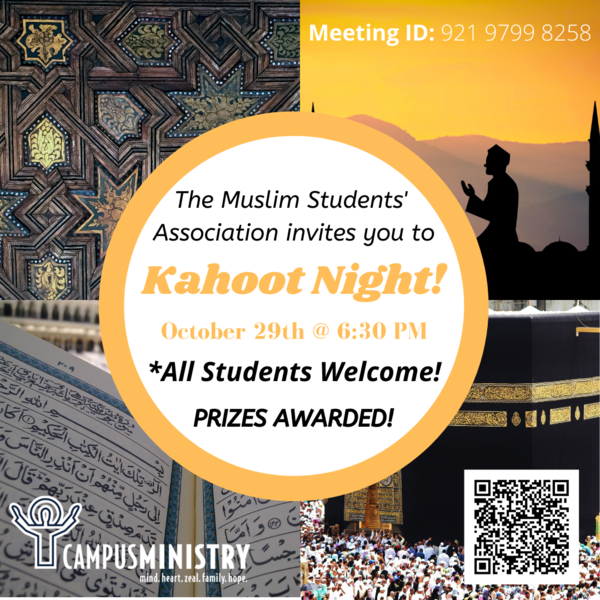 Muslim Students Association Kahoot Night